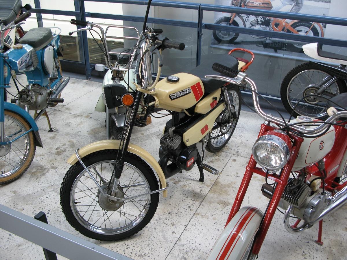 Nn44 Moped Delta Riga Motor Museum