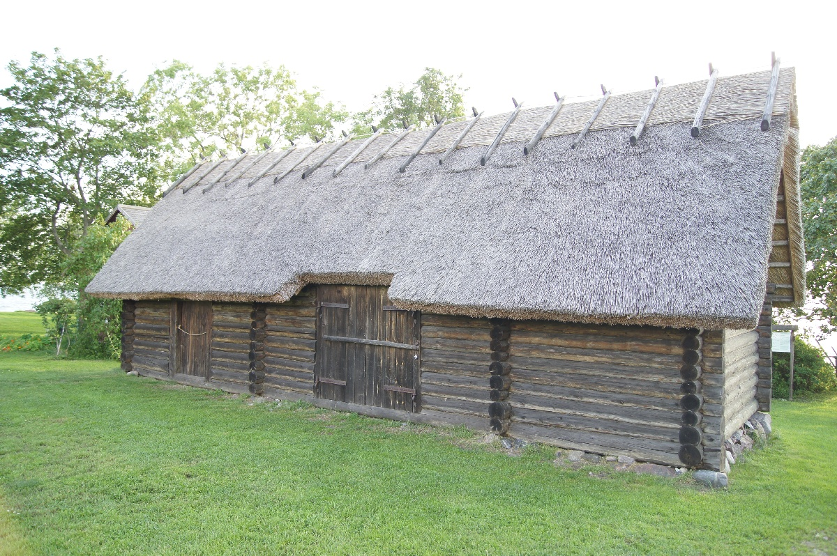 Store-house-cum-shed. Viimsi Open Air Museum.