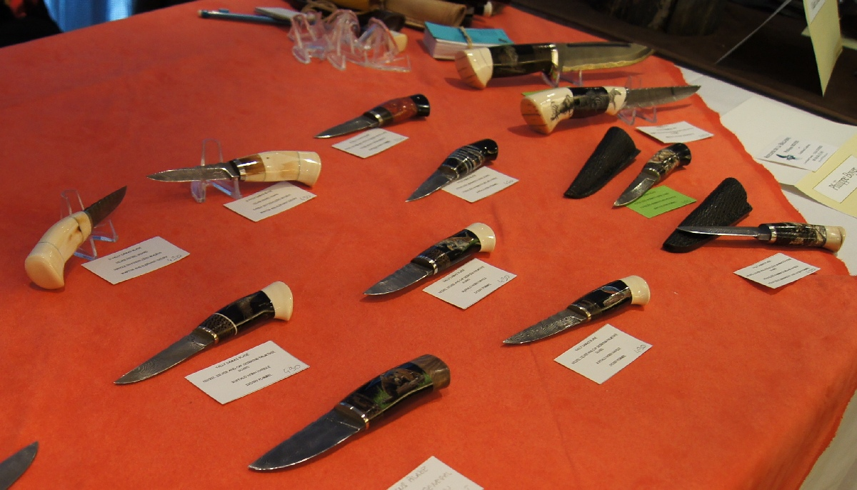Philippe Boyer. Helsinki Knife Show 2012.