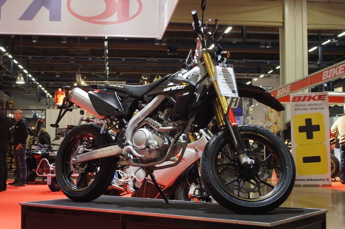 Rieju MARATHON 125 Motard. MP 12 Motorcycle Show.