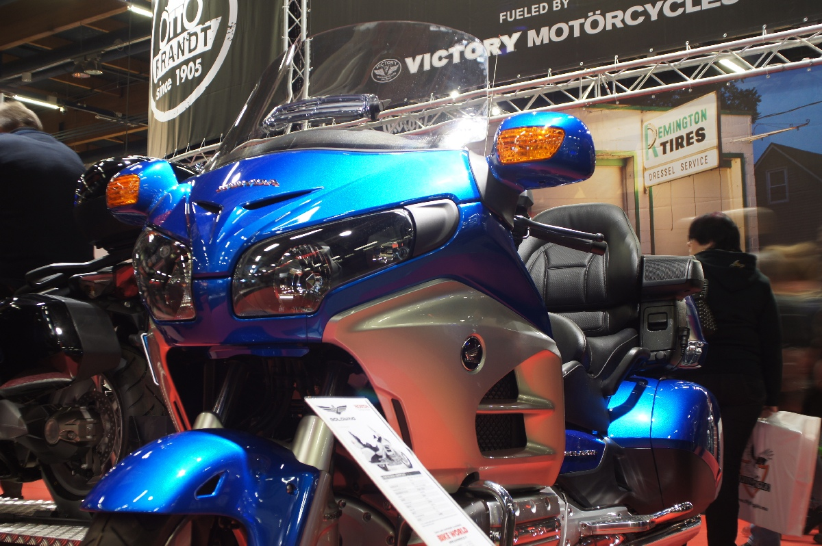 Honda GL1800 Goldwing Comfort 2012. MP 12 Motorcycle Show.