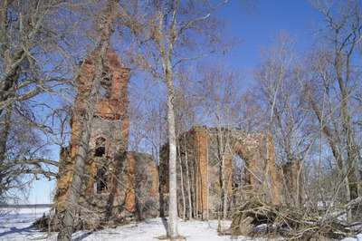 Silla Russian Orthodox Church, ruins