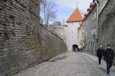 Walking in Tallinn