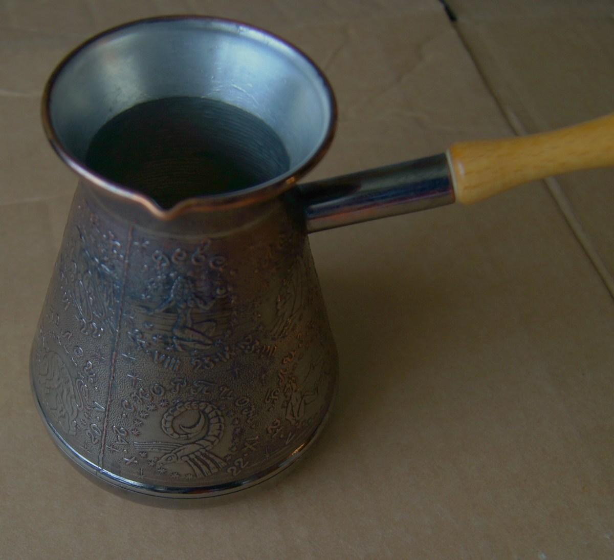 Изготовление турки для кофе (1 видео) 18
